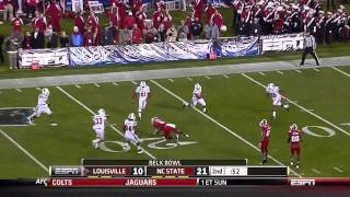 TJ Graham vs Louisville Belk Bowl