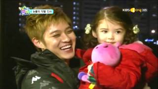 Download Lagu [CUT] MBLAQ Seungho with Lauren farewell kiss On Hello Baby Ep 12 Mp3
