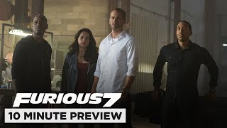 Nonton Furious 7   10 Minute Preview   Film Clip   Now On Blu Ray  Dvd   Digital Film Subtitle Indonesia Streaming Movie Download