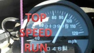 5. Suzuki DR650 Top Speed Run