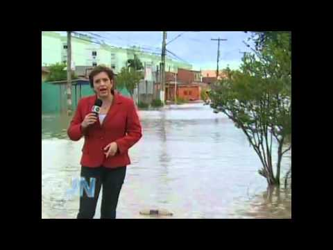 Enchente em Esteio na última semana!