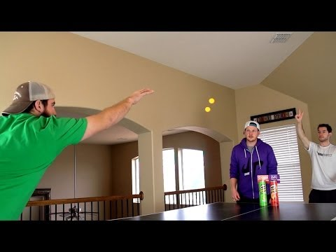 Ping Pong Trick Shots %7C Dude Perfect