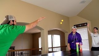 Ping Pong Trick Shots- Dude Perfect