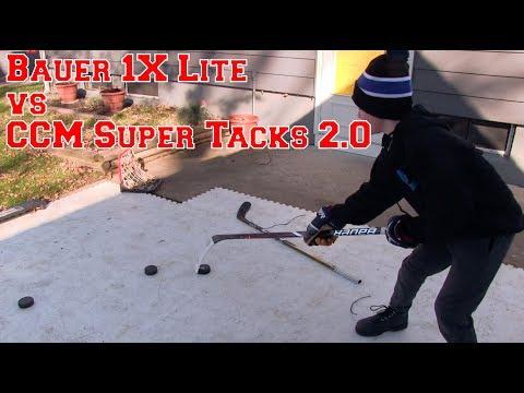 Hockey Sticks- Bauer 1X Lite vs. CCM Super Tacks 2.0
