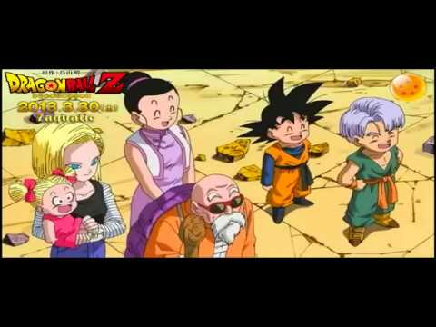 DRAGON BALL Z 2013 -FINAL Battle of GODS - OPENING HD English - Japanese FM