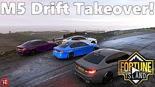 Forza Horizon 4: FORTUNE ISLAND! Multiplayer DRIFT MEET! NEW M5 MOUNTAIN TAKEOVER!!