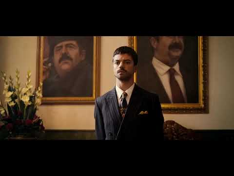 BEST VIDEO SCENE FROM DEVIL'S DOUBLE WHEN SADDAM HUSSEIN  MEETS UDAY