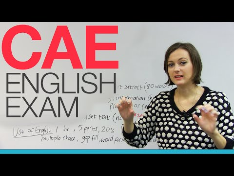 CAE Cambridge English Exam – All you need to know