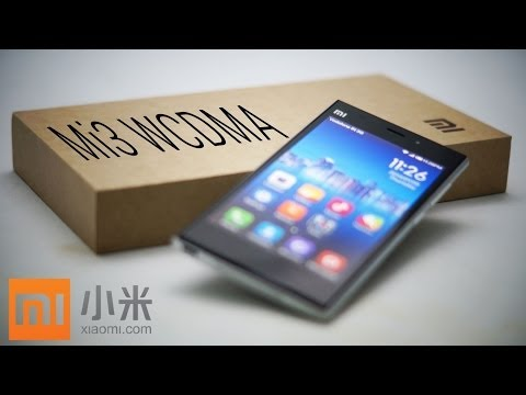 Xiaomi Mi3 (WCDMA - Snapdragon 800) - Unboxing & Hands On