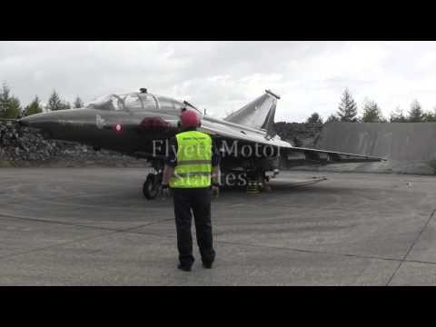 Flyvestation Karup, Draken Meeting, F 35 Draken - Test Af Jet Motor...