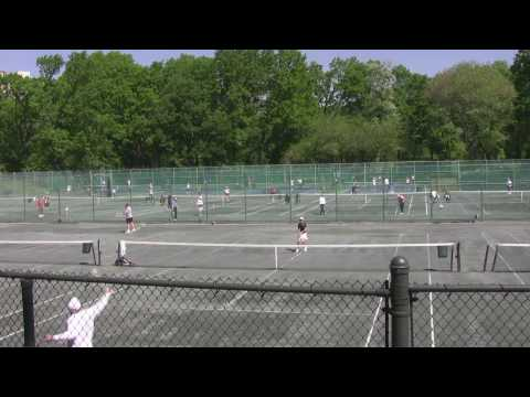 Tennis in reverse - Central Park