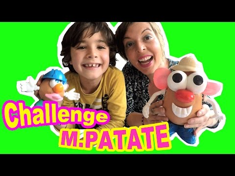 CHALLENGE Mr PATATE : on tente de battre le record du monde d'assemblage !