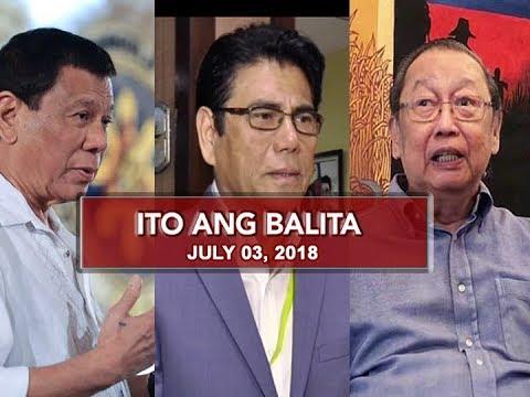 UNTV: Ito Ang Balita (July 3, 2018)