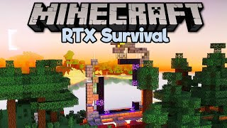 Making Nether Connections! • Minecraft RTX Survival S2 [Part 6]