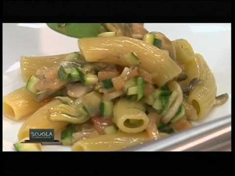 Pasta secca risottata con verdure