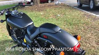 9. 2018 HONDA SHADOW PHANTOM