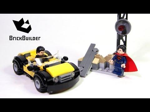 Vidéo LEGO DC Comics Super Heroes 76002 : Superman : le combat à Metropolis