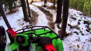 4. Winter Riding With the Arctic Cat 650 H1