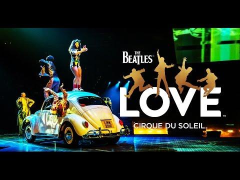 The Beatles LOVE by Cirque du Soleil   Official Trailer