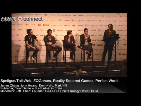 Publishing Your Game with a Partner in China | Panel