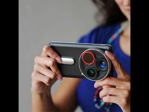 """বাজারে শক্তিশালী """"চার ক্যামেরা""""র স্মার্টফোন!   4 camera one mobile"""