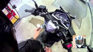 6. Quick Vlog #4 2015 Yamaha Smax Gas/Girls