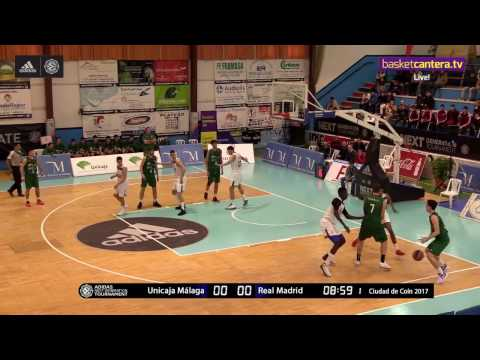 ANGT Coin: Final, U18 Unicaja Malaga vs. U18 Real Madrid - Full Game