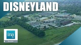 Marne-la-Vallee France  City pictures : Implantation éventuelle de Disneyland à Marne la Vallée - archive vidéo INA
