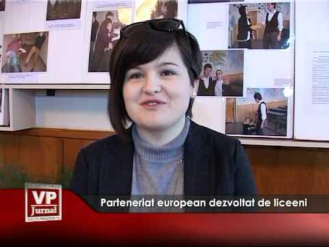 Parteneriat european dezvoltat de liceeni