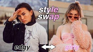 Edgy vs Girly Style Swap w/Avrey Ovard