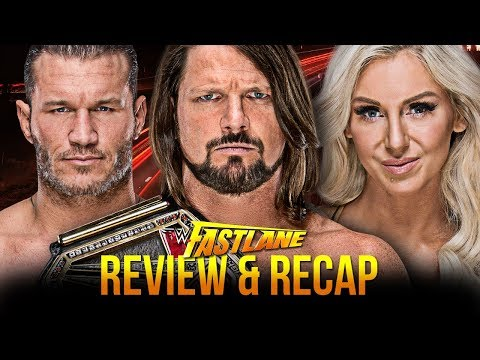 WWE Fastlane 2018 Review & Recap