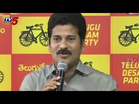 Revanth Reddy Punch Dialogues on KCR : TV5 News