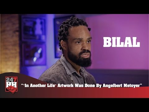 "Bilal - ""In Another Life"" Artwork Was Done By Angelbert Metoyer (247HH Exclusive)"