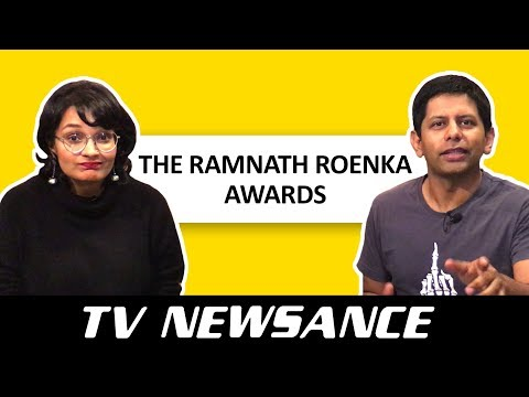 TV Newsance 39: Announcing The Ramnath Roenka Awards For Out Of This World Journalism.