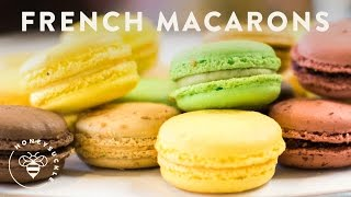 How to make MACARONS - Honeysuckle Catering