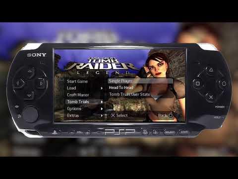 Tomb Raider: Legend (PSP) - Online Multiplayer Gameplay
