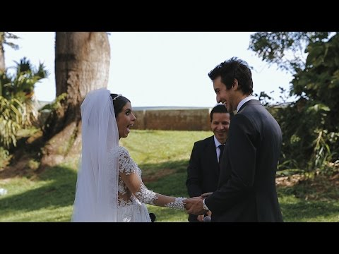 Minuto final de um casamento perfeito - Fazenda Santa Gertrudes