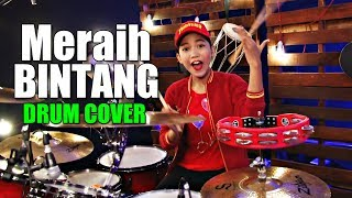 Meraih Bintang | Via Vallen | Drum Cover by Nur Amira Syahira