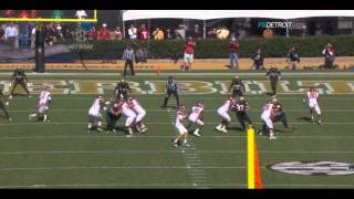 Casey Hayward vs Arkansas 2011