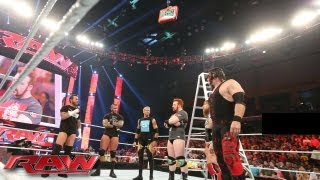 Nonton The Money in the Bank All-Stars brawl at the start of Raw: Raw, July 1, 2013 Film Subtitle Indonesia Streaming Movie Download