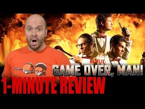 GAME OVER, MAN! (2018) - Netflix Original - One Minute Movie Review