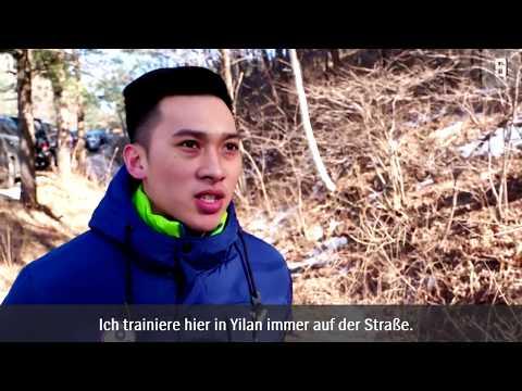 Rodeln auf der Straße: Mit dem Schlitten von Taiwan nach Pyeonchang