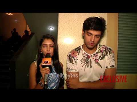 Niti and Parth aka Nandani and Manik of Kaisi Yeh