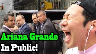 """Video ARIANA GRANDE - """"No Tears Left to Cry"""" - SINGING IN PUBLIC!! MP3, 3GP, MP4, WEBM, AVI, FLV Mei 2018"""