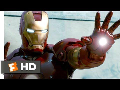 Iron Man (2008) - Iron Man to the Rescue Scene (8/9) | Movieclips