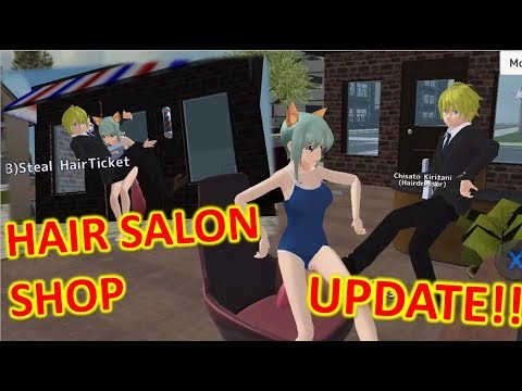 [School Girls Simulator] NEW HAIR SALON & HAIRDRESSER UPDATE!!! 12.08.18