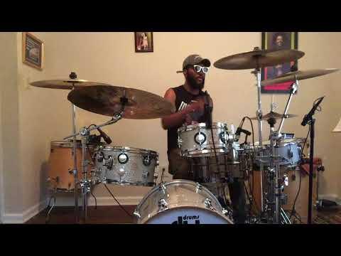 Trouble Dont Last Drum Cover - @JeromeFlood2 Instagram