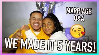 MARRIAGE Q&A (Year 5) How We Keep It Spicy, Dealing With In Laws + How We've Changed! by VICKYLOGAN