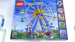 Built in 60 seconds: LEGO Creator Ferris Wheel 10247