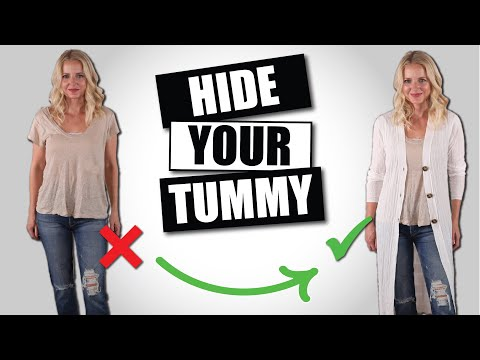 10 Must Know Style Tips to Hide a Tummy *WITHOUT Shapewear* (Dressing Over 40/Over 50)